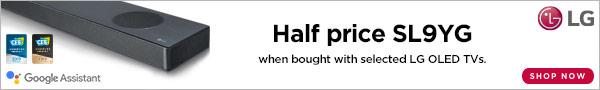 Half price LG sound bar