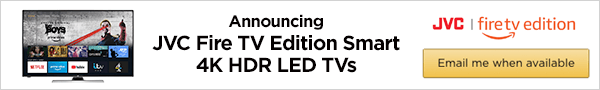 JVC Amazon announcement