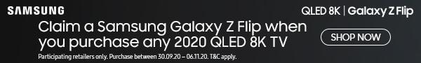 Samsung free phone with 8K TVs