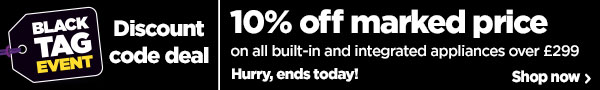 10% off built-in appliances