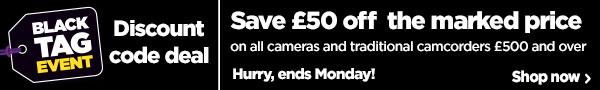 £50 off cameras