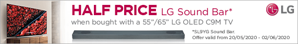 LG TV and soundbar bundles