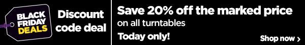 Turntable Black Friday