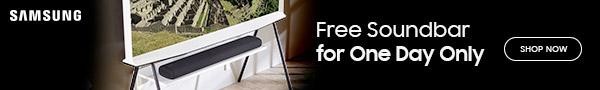 Samsung TV and Soundbar offer