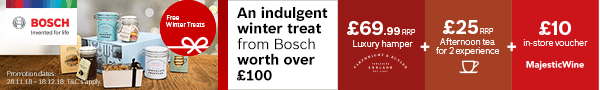 Bosch Winter Treats