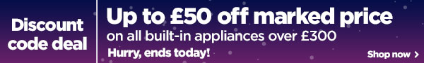 Up to £50 off on all built-in over £300
