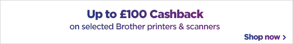 Brother printer Cashback