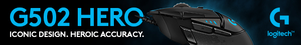 Logitech hero gaming mouse