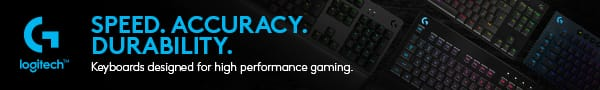 Logitech gaming keyboards