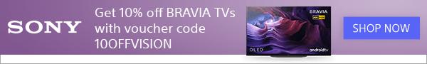 Sony TV 10% code