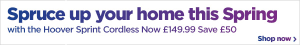 Spruce up your home this Spring with Hoover