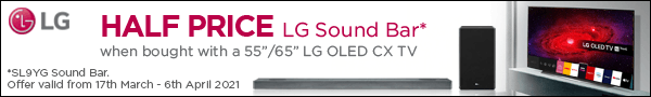 LG soundbar offer