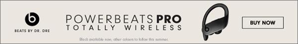 Powerbeats wireless earphones