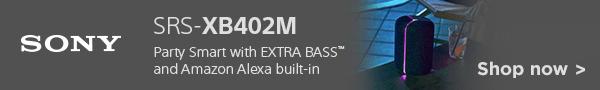 New Sony speaker