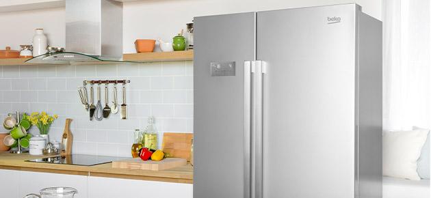 Beko american style fridge freezers