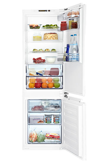BCE772F Integrated Large Fridge Freezer