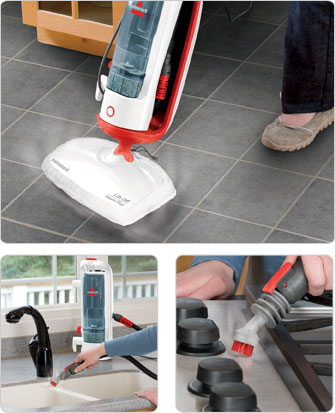 Lift-off® Steam mop for hard floor cleaning