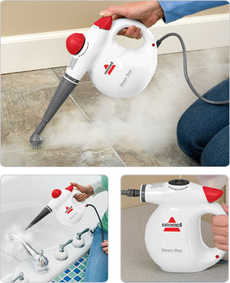 Steam Shot™ hand held steam cleaner