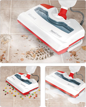 Steam & SweepTM Steam Cleaner<