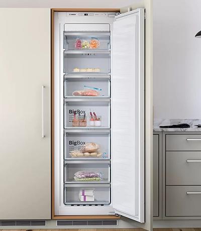 Bosch built in freezers