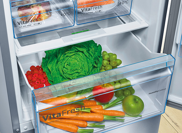 bosch large capacity fridges
