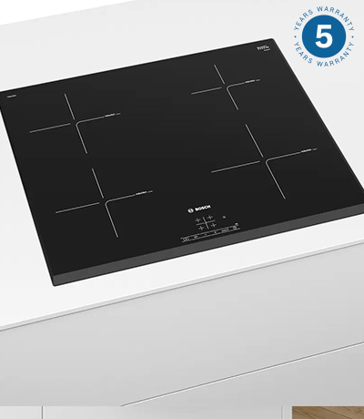 Bosch electric induction hobs