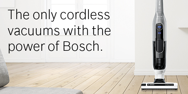 Bosch Athlet Cordless Vacuum Cleaners