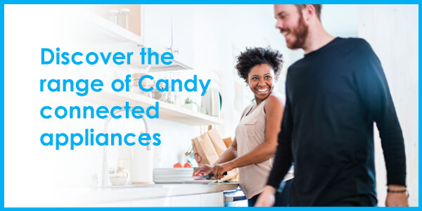 Discover the range of Candy connected appliances