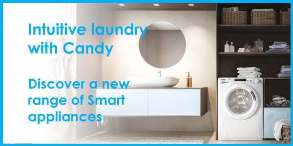 Intuitive laundry with Candy
