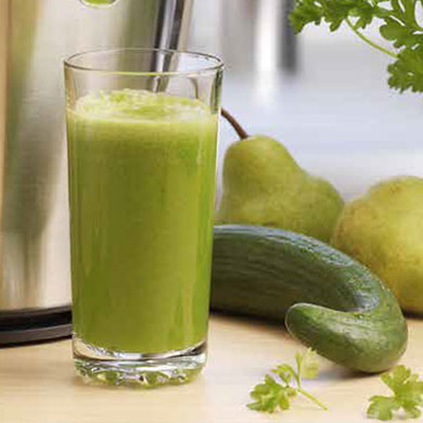 Recipe for Glowing Greens Juice