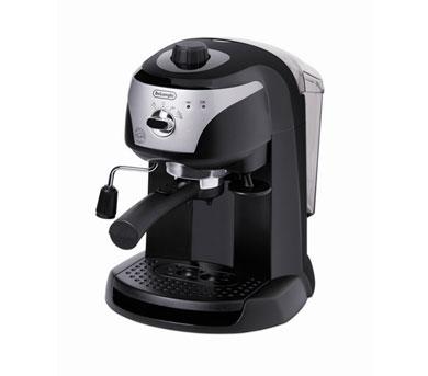 DELONGHI EC220 Espresso Machine - Black & Silver