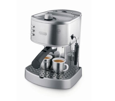 DELONGHI EC330S Espresso Machine - Stainless Steel