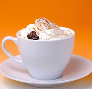 Viennese Cappuccino recipe made using a coffee machine