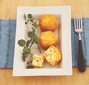 Fish Cakes recipe made using a food processor