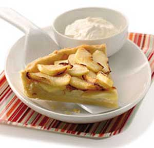 French Apple Tart recipe using a food processor