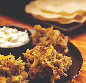 Onion Bhaji recipe using a food processor