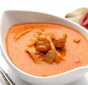 Thai Red Chicken Curry recipe using a fryer