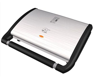 GEORGE FOREMAN GRV120 Entertaining Health Grill - Silver