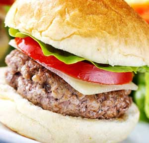 Classic Beef Burger recipe made using a health grills