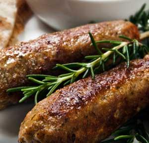 Koftas with Basil Pita Bread recipe made using a health grills