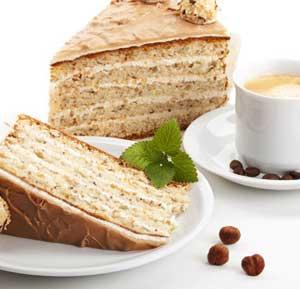 Coffee Cake recipe made using a mixer