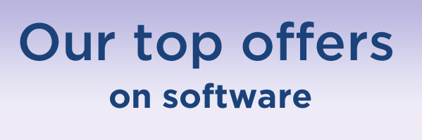 Our top offers on software