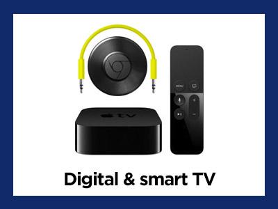 Digital and smart tvs