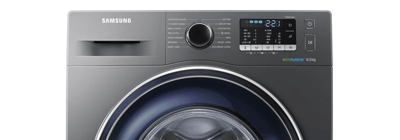 Grey Samsung washing machine