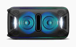 Black home speaker