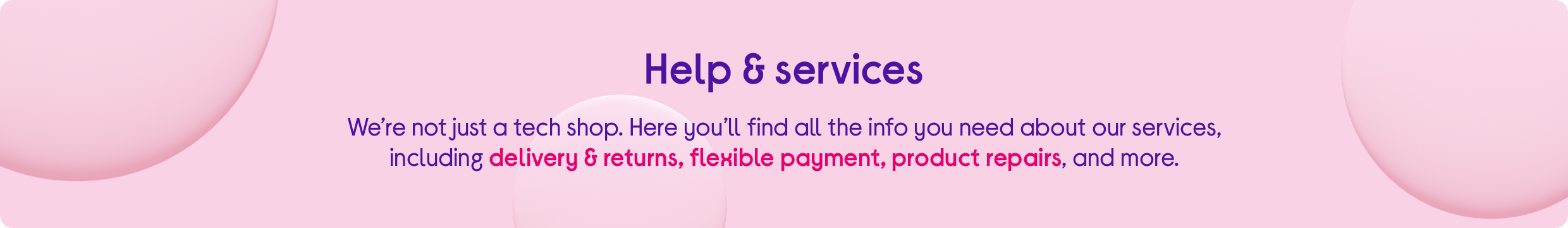 Help Services Installation Delivery Repairs Currys Pc World