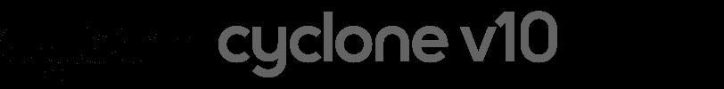 Dyson cyclone v10 logo