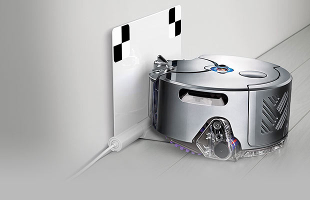 Dyson 360 eye Robot cleaning app