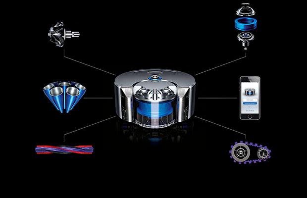 Dyson Robot Components