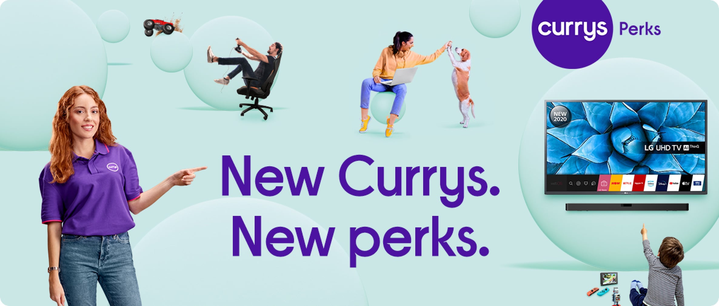 New currys. New perks.